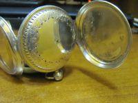 Ремонт старинных коллекционных карманных часов в серебряном корпусе (1913 год)