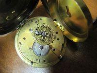 Ремонт старинных коллекционных карманных часов