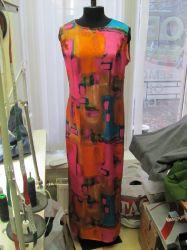 Пошив платья из шелка